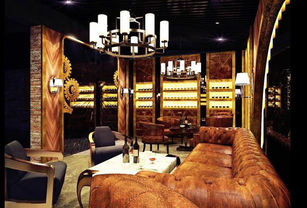 El Septimo cigar lounges offer a full array of fine wines and spirits