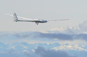 Airbus Perlan Mission II over Argentina