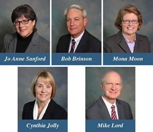 New Board Officers - SECU and SECU Foundation