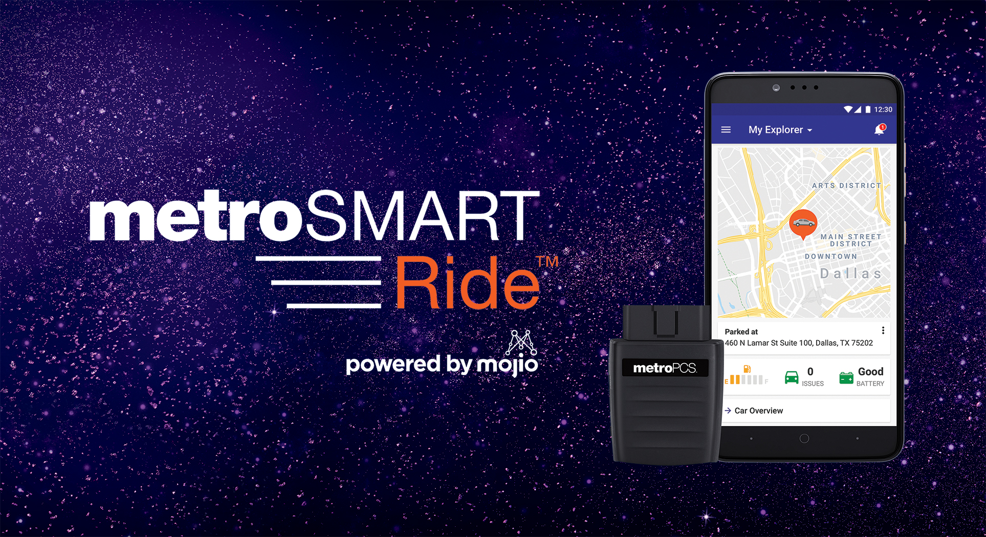 Mojio Launches New Connected Car Service With MetroPCS