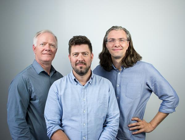 From left to right: Classcraft Co-Founders Lauren Young (CFO), Shawn Young (CEO), and Devin Young (President and Chief Innovation Officer).