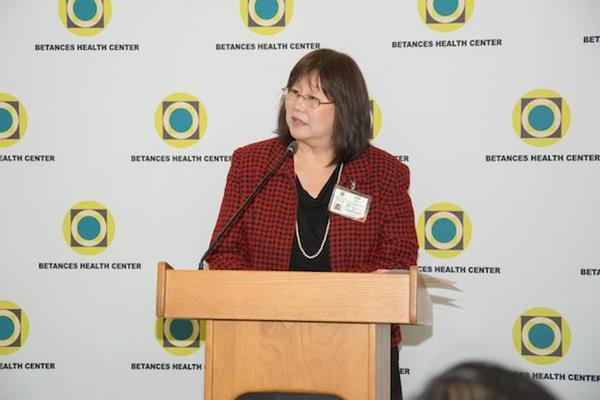 Julia Tsien, Interim Chief Executive of Batances Health Center.