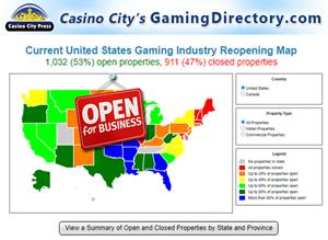 Free Covid 19 App Shows 1 000 Casino And Gaming Property Reopenings