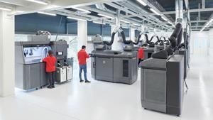 HP's Jet Fusion 3D printers in IAM 3D Hub