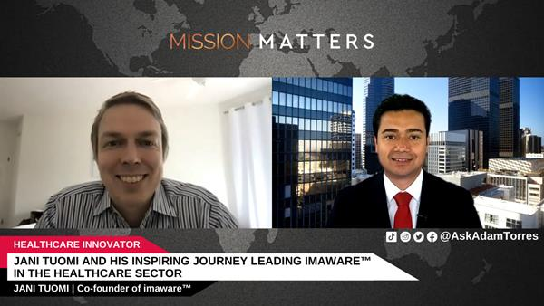 Jani Tuomi was interviewed on the Mission Matters Innovation Podcast by Adam Torres.