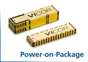 Vicor's Power-on-Package Solution