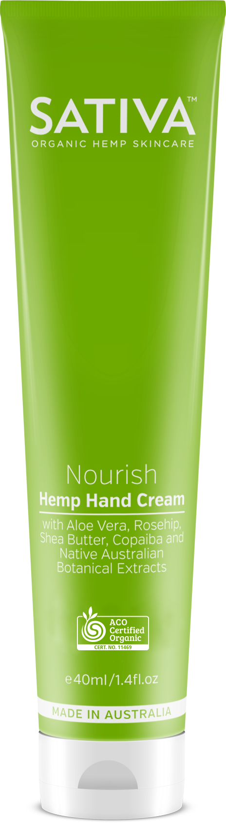 SATIVA Nourish Hand Cream Elixinol