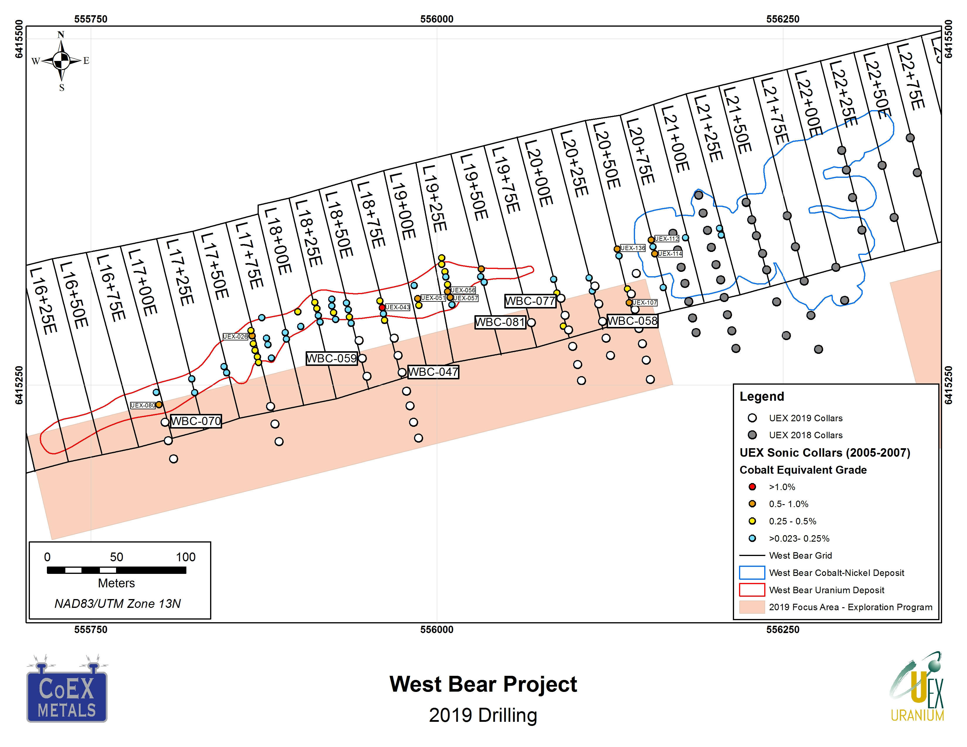 Figure 1 - West Bear Project