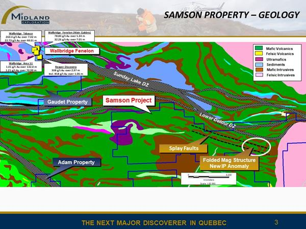 Figure 3 Samson Geology