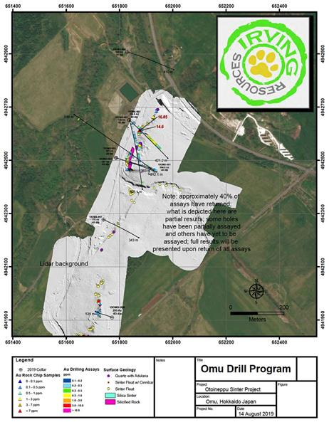 Irving Resources Updates Omu Exploration; Appoints Project Manager ...