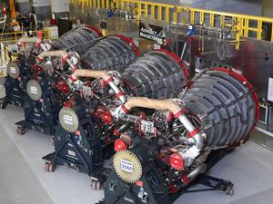 RS-25 Engines Ready for Maiden Flight of NASA's Space Launch System