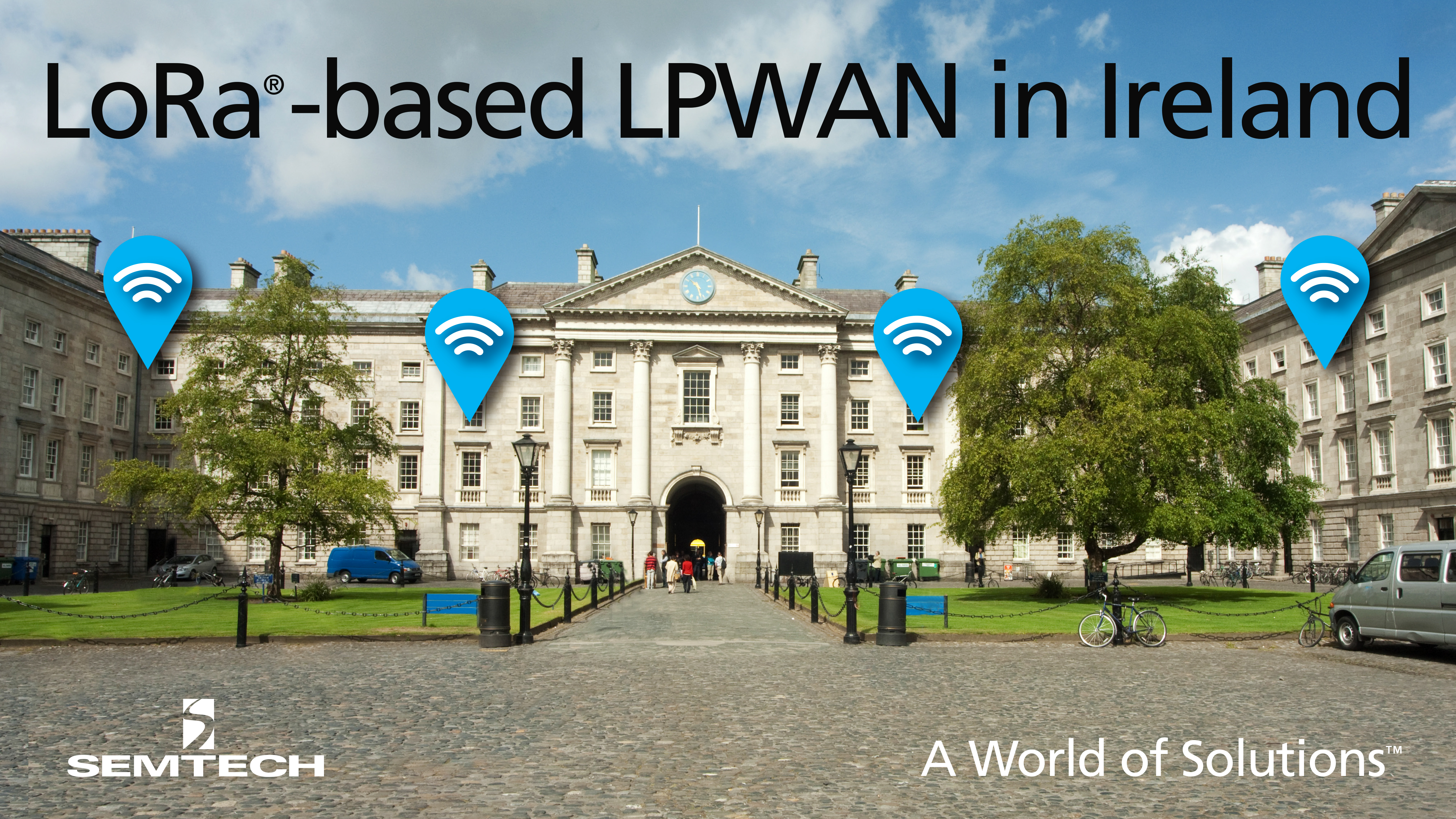 Semtech LoRa Technology to Enable Ireland's Nationwide IoT Network