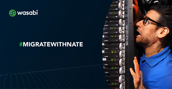 I'm Nate. I'm the Director of IT. We are OUT OF SPACE. We have to migrate to the cloud, NOW!