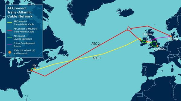 Aqua Comms Appointed System Operator of New Undersea Cable Traversing the North Atlantic