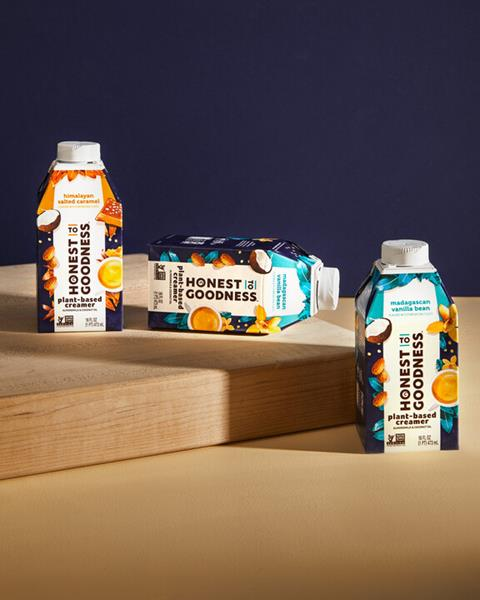 New Brand 'Honest to Goodness' Launches Plant-Based Creamers