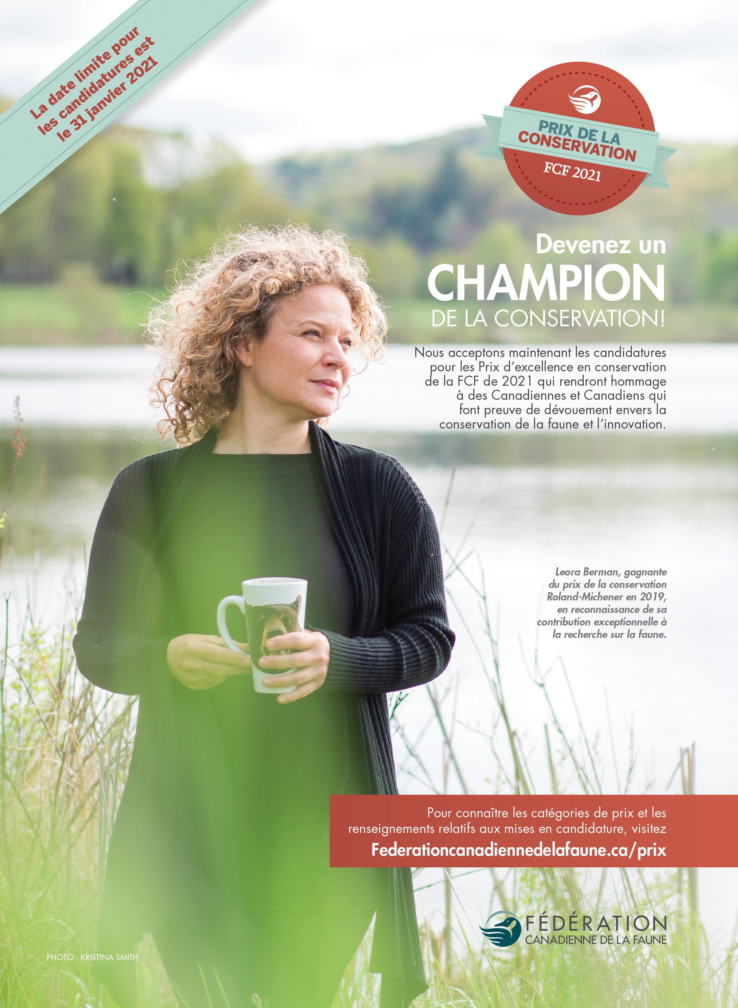 Programme des Prix canadiens d*excellence en conservation