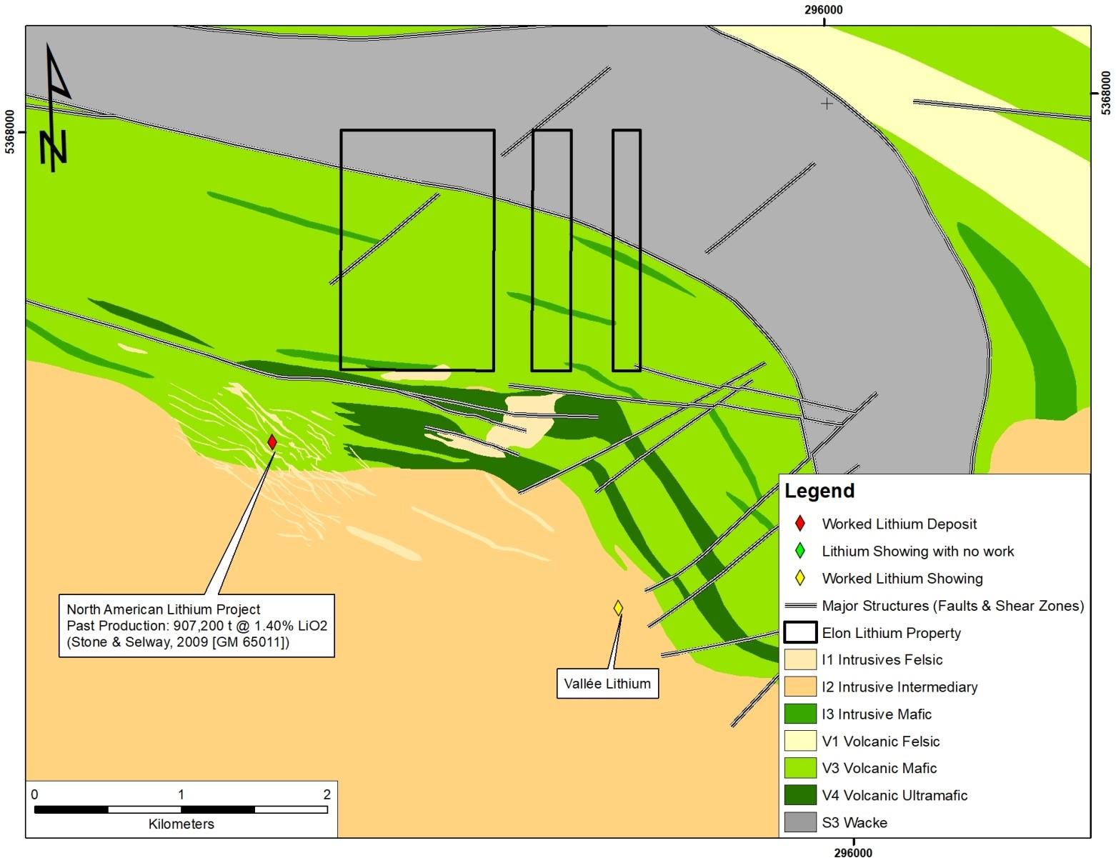 Figure 3: Property Geology