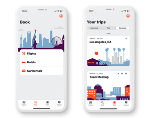 Etta, powered by Deem, is a mobile-first corporate travel booking and management solution designed to empower travelers and create better control and experience for travel managers. Etta was created using a human-centered design approach and includes accessibility features as outlined by the W3C to make business travel more inclusive for more people and companies.