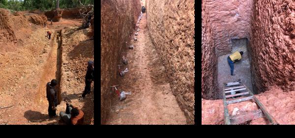 Figure 5: Trench Photos