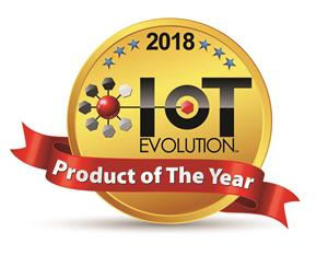 IoT Evolution Product of the Year Award Logo