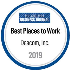 Deacom Named Best Place To Work By Philadelphia Business Journal