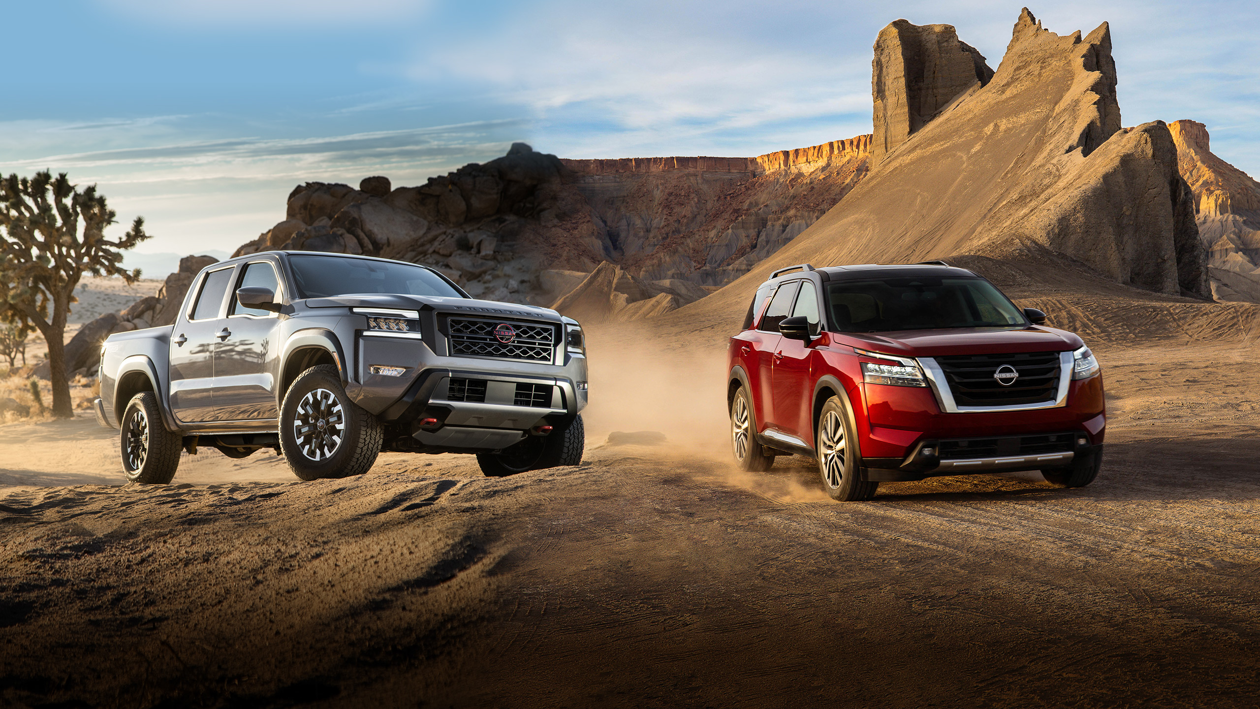 All-new 2022 Nissan Frontier and all-new 2022 Pathfinder