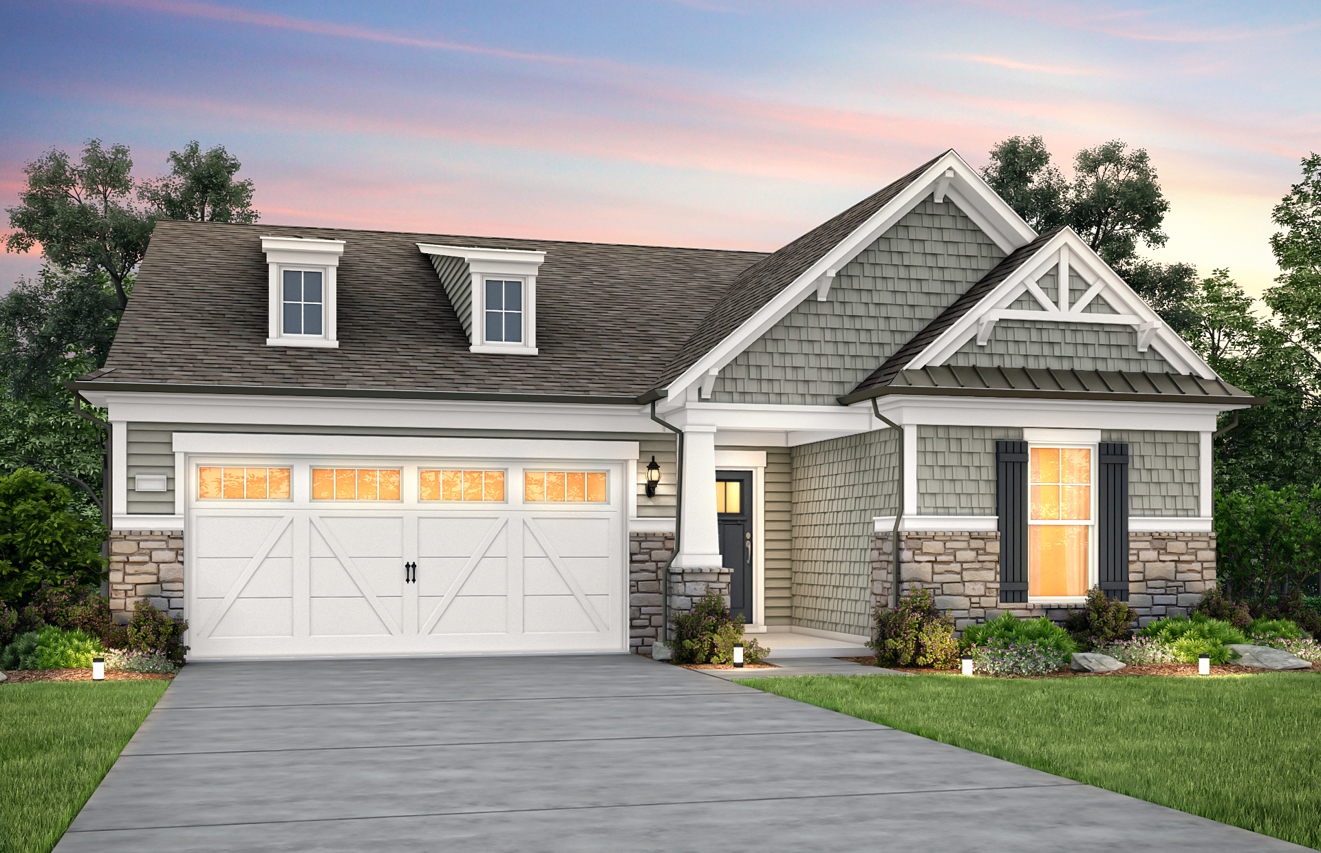 Pulte Raleigh Del Webb at Traditions Brookfield NC3H 4' Ext SCH1