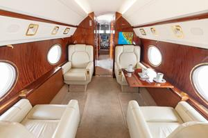 12-Passenger Interior with International Travel