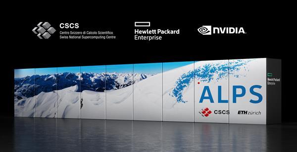 cscs Alps supercomputer