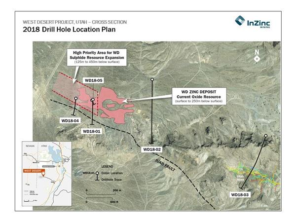 Fig 1 2018 Drill  hole location plan, Aug 27, 2018, final