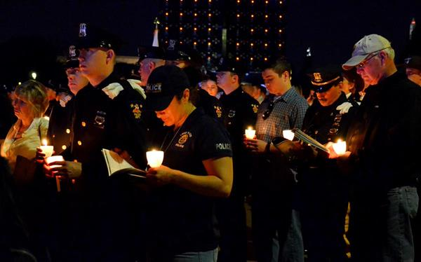 The 28th Candlelight Vigil held on the National Mall in Washington, DC, on May 13, 2016.