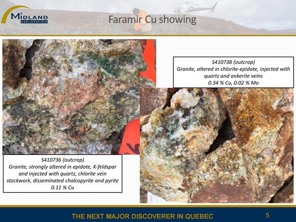 Photos de l'indice de cuivre Faramir