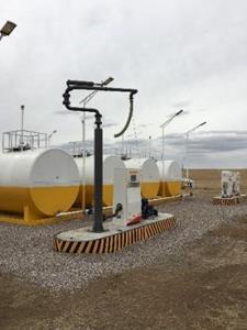 200,000 liter fuel station