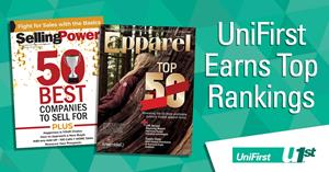 UniFirst named a top 50 company