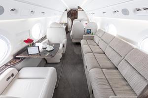 Gulfstream GV managed under Silver Air PURE Jet Management