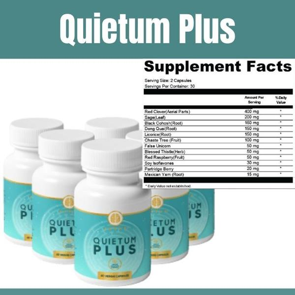Quietum Plus ingredients by Patrick Bark supplement's ingredients work for tinnitus and not only