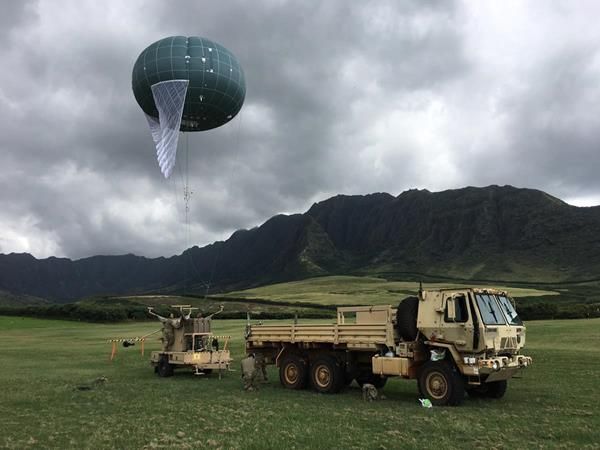 Drone Aviation's WASP ERS tactical aerostat completes training with an U.S. Army unit stationed in the Pacific