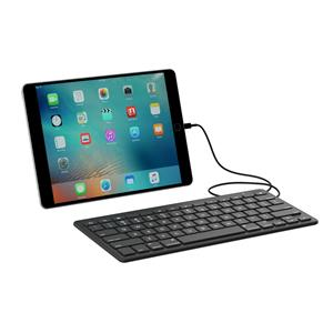 The ZAGG Wired Keyboard for iOS Devices with a Lightning Connector