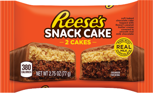 New Reese's Snack Cake