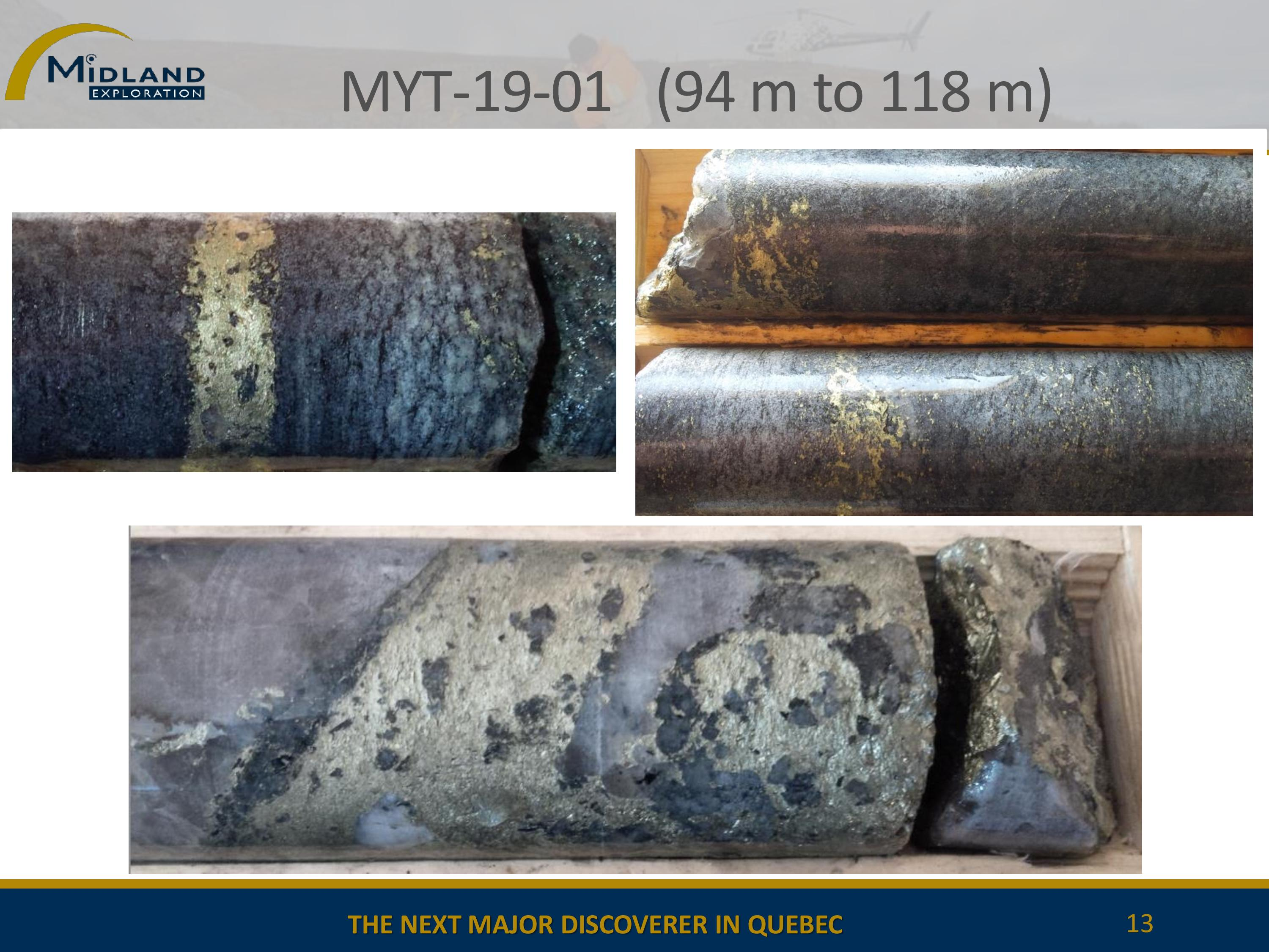 Copper mineralization in MYT-19-01