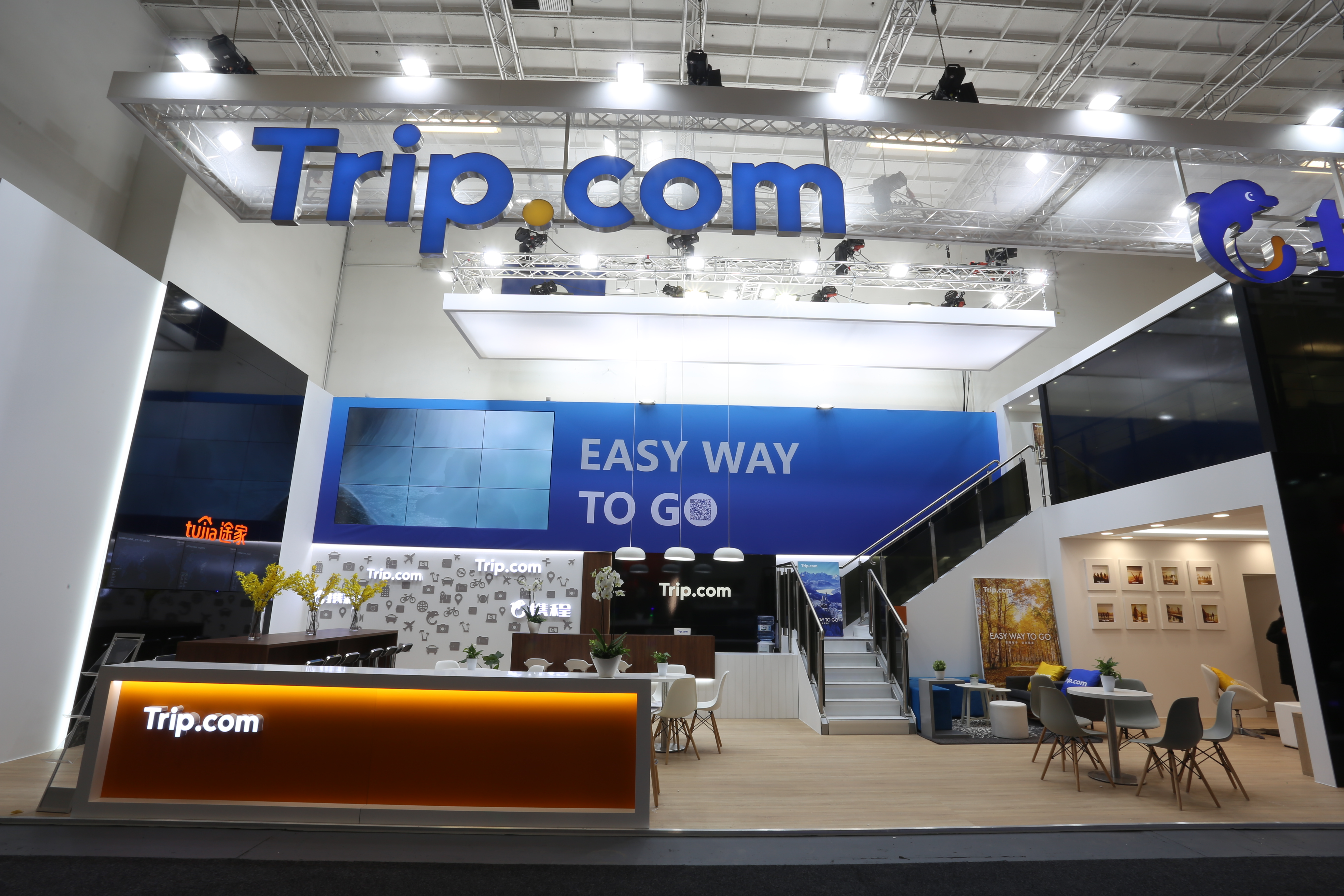 Trip.com Booth at ITB Berlin