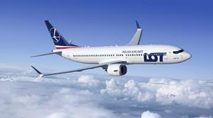 LOT Polish Airlines Boeing 737 MAX 8