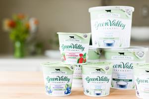 Lactose-free yogurts