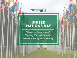 Camfil is dedicated to contributing its best by aligning the core business strategies with four UN Sustainable Development goals.