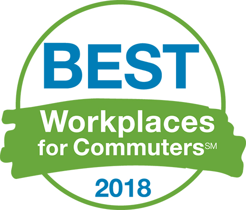 Best Workplaces for Commuters 2018 logo