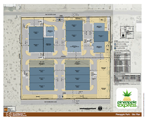 Pineapple Park - Site Plan
