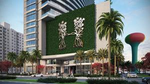 Artist Conceptual Rendering of the Hyde Resort & Residences