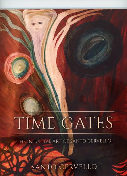 """The front cover of """"Time Gates"""" by Santo Cervello Volume 1,2.3.4 &5"""