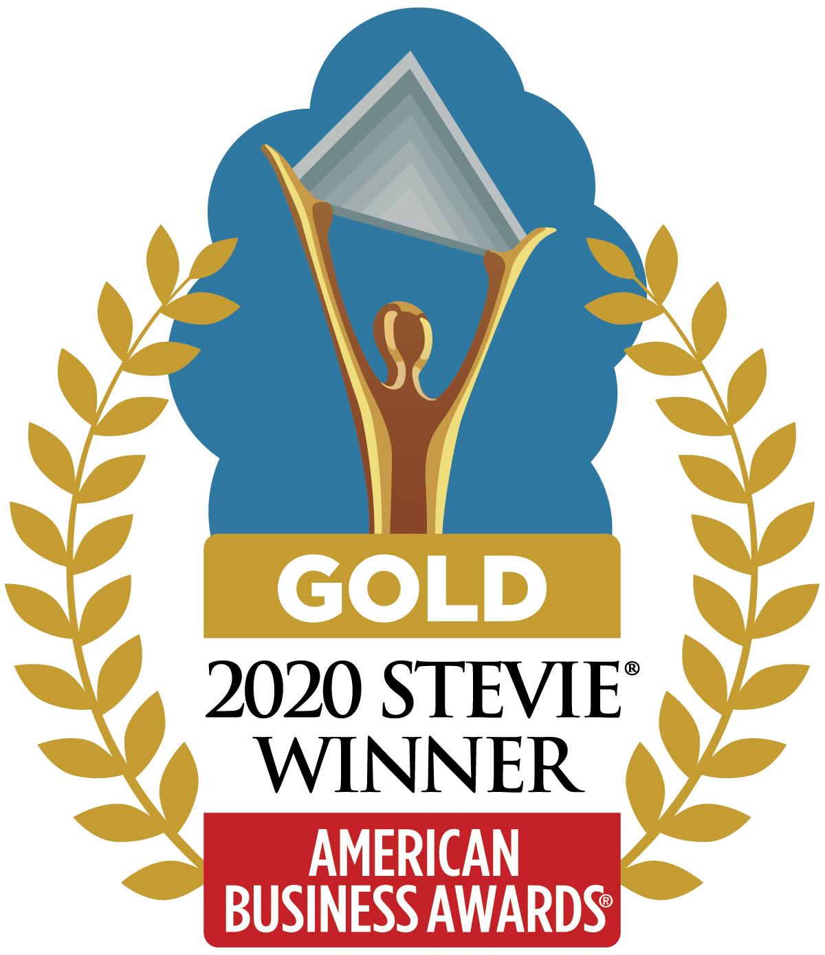 Chime Gold Stevie® Award Winner
