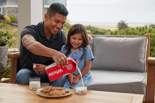 New US scientific study suggests some people who suffer stomach discomfort after drinking regular milk may have significantly reduced symptoms if they consume a2 Milk®